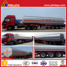 Tri-Axle Chemical Liquid Tanker Semi Truck Trailer (PLY9400CTT)